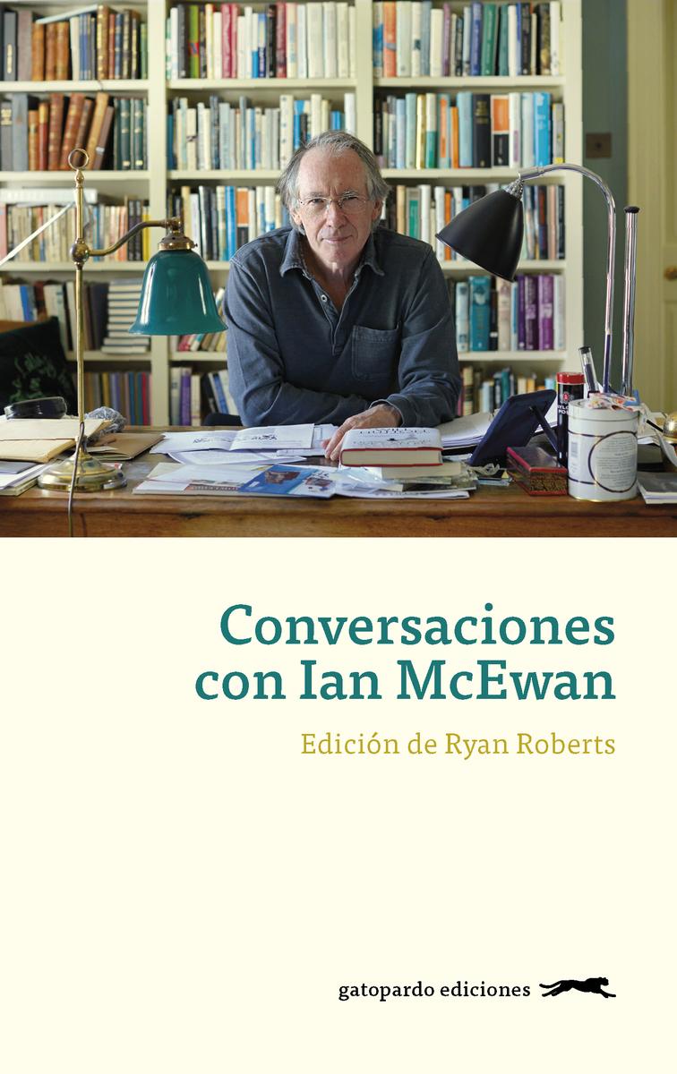 Conversaciones con Ian McEwan: portada