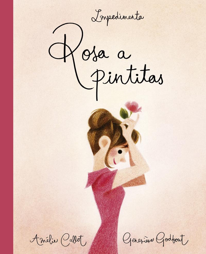 Rosa a pintitas: portada