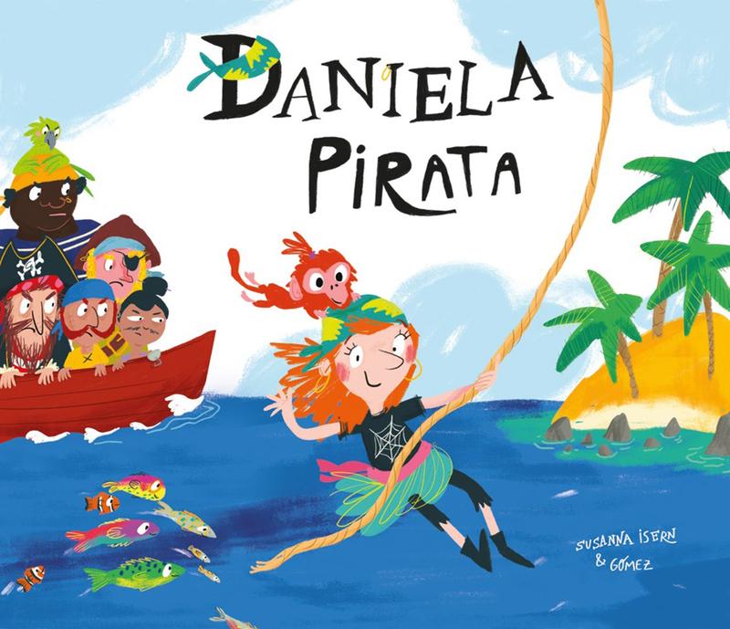 Daniela Pirata: portada