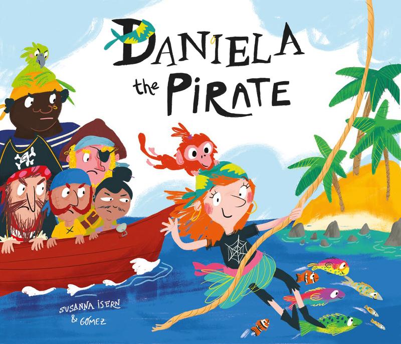 Daniela the Pirate: portada