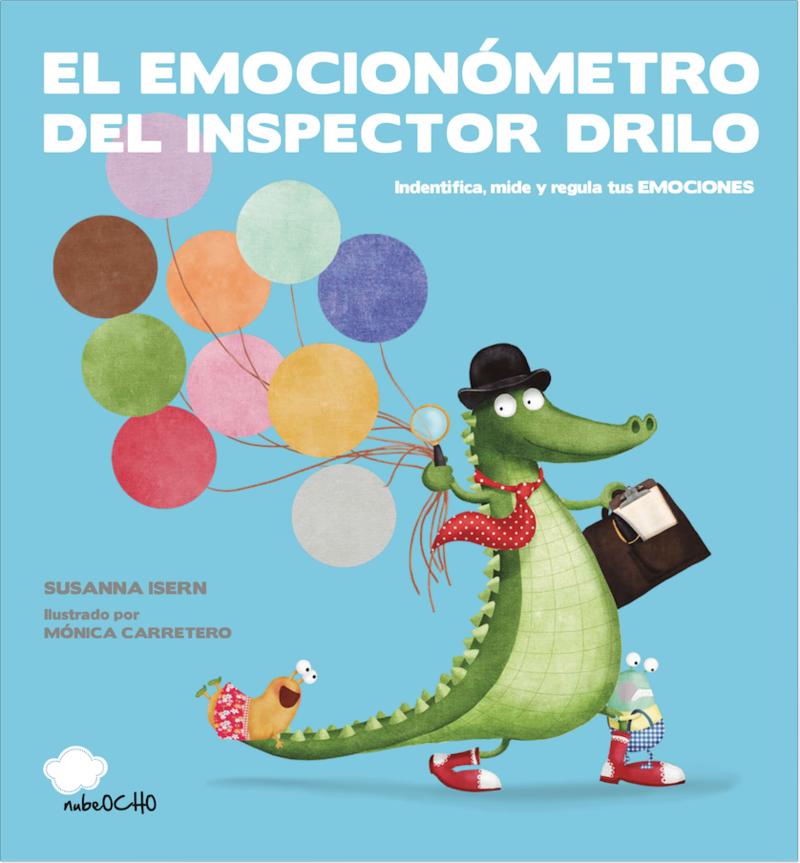 El Emocionómetro del inspector Drilo (ED. LATINA): portada