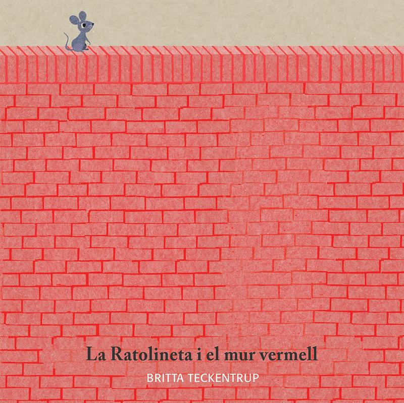 La Ratolineta i el mur vermell: portada