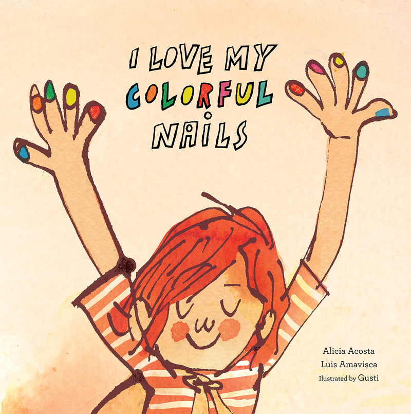 I Love My Colorful Nails: portada