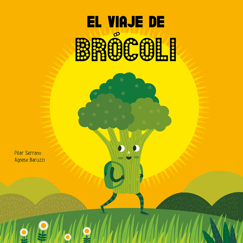 El viaje de brócoli: portada