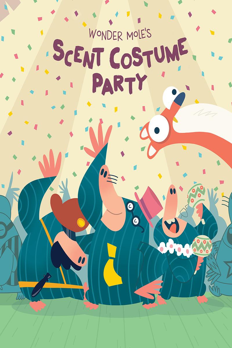 Wonder Mole's Scent Costume Party: portada