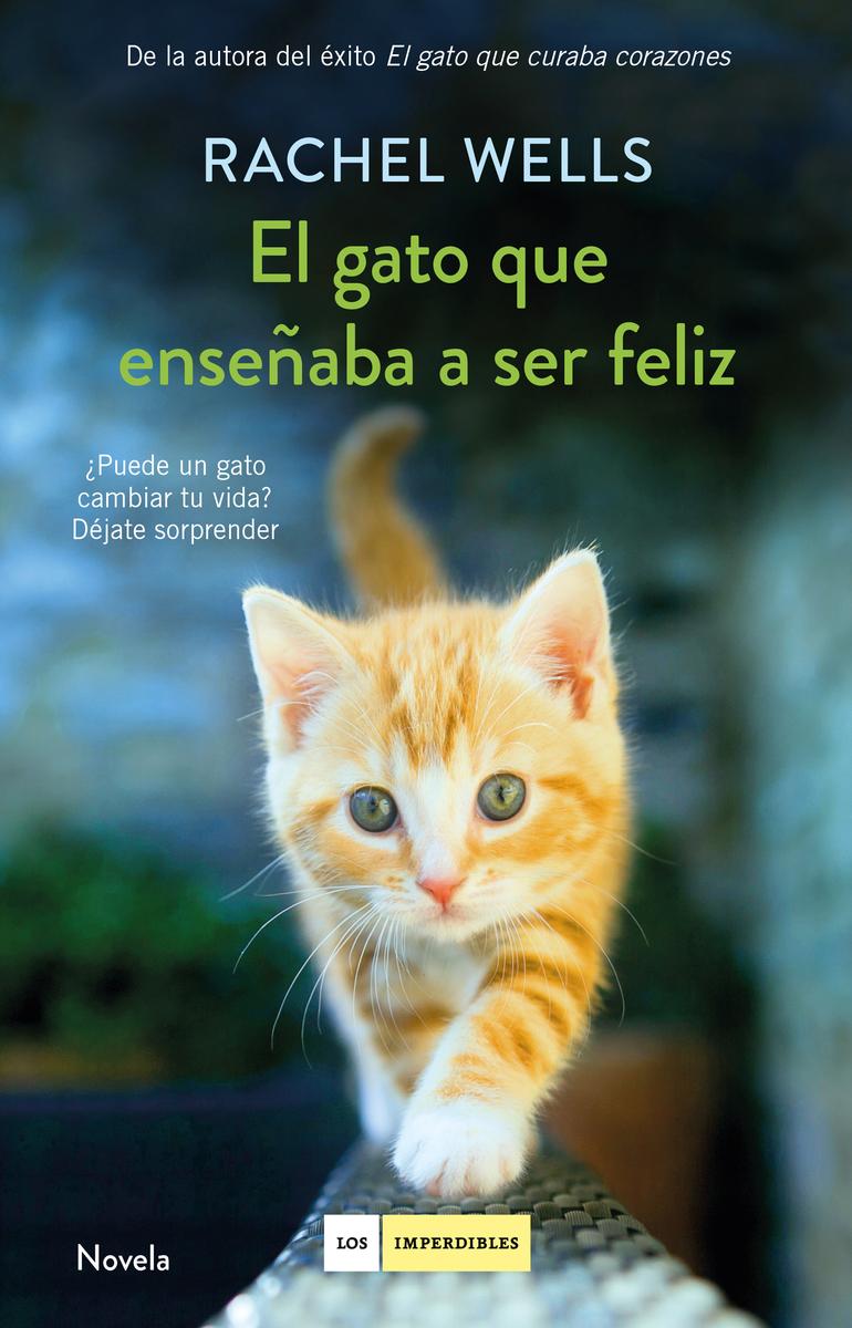 El gato que enseñaba a ser feliz: portada