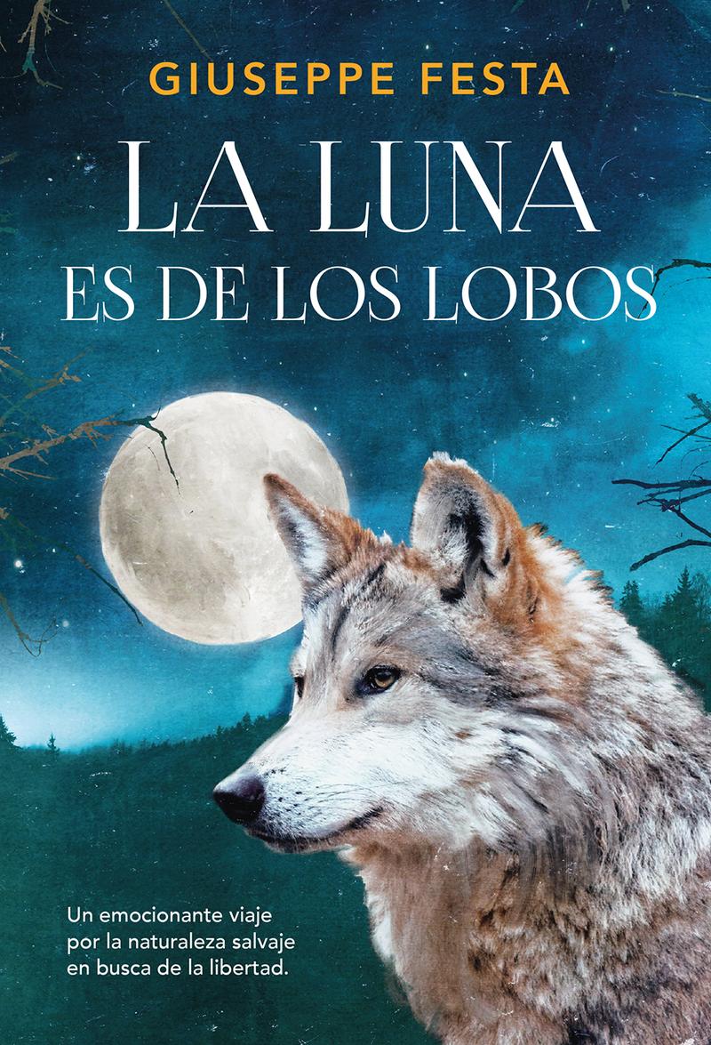 La luna es de los lobos: portada