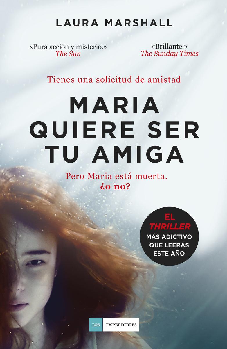 Maria quiere ser tu amiga: portada