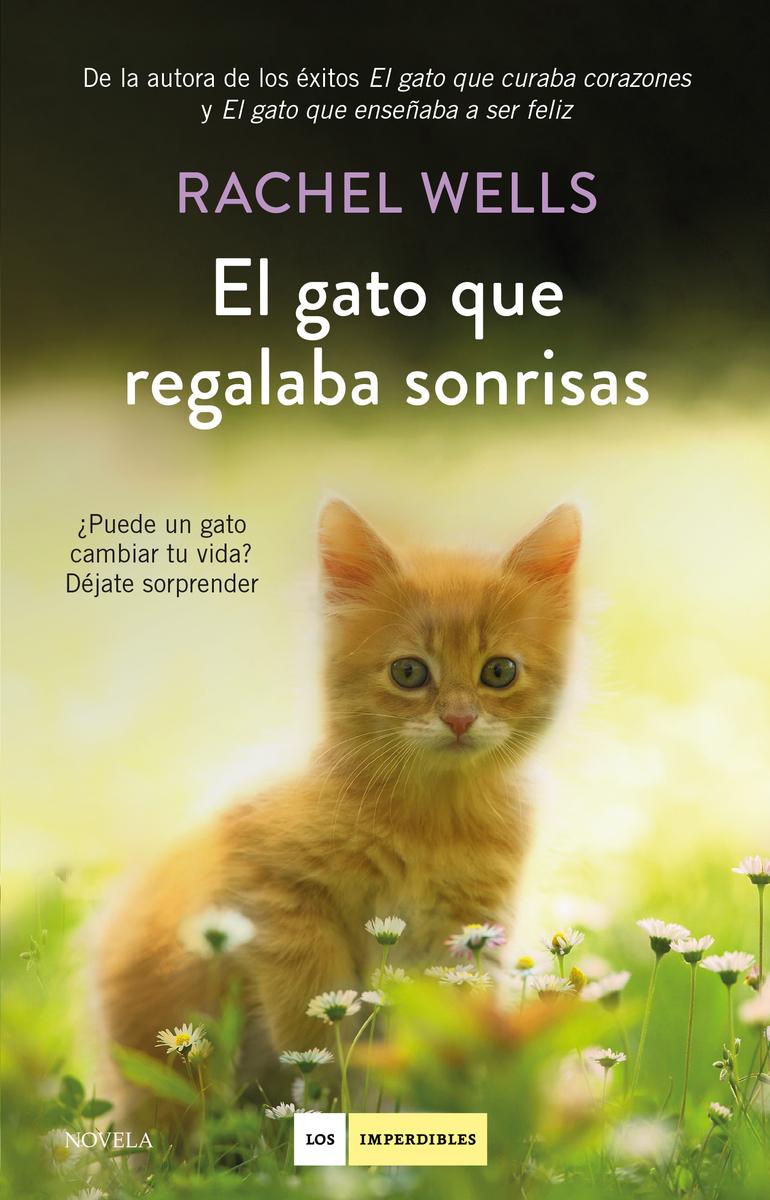 El gato que regalaba sonrisas: portada