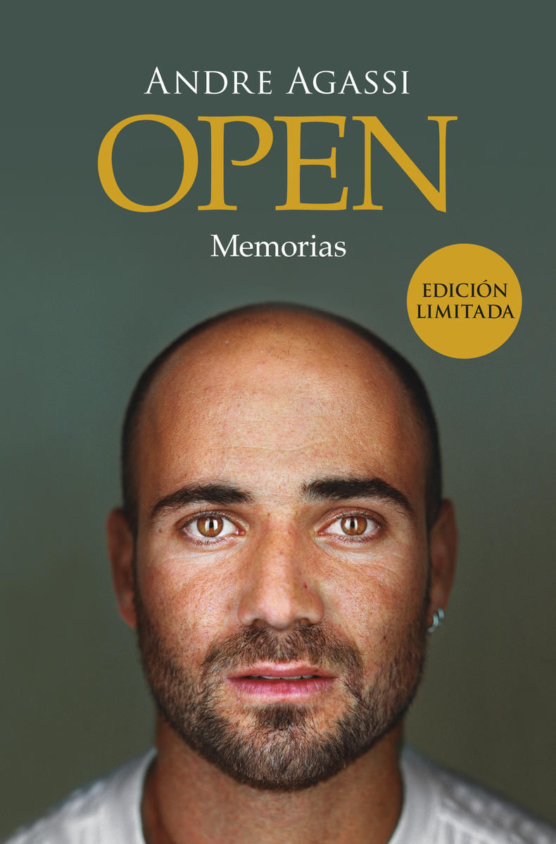 Open (Tapa Dura): portada