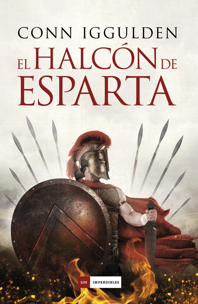 El Halcón de Esparta: portada