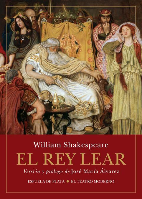 El rey Lear: portada
