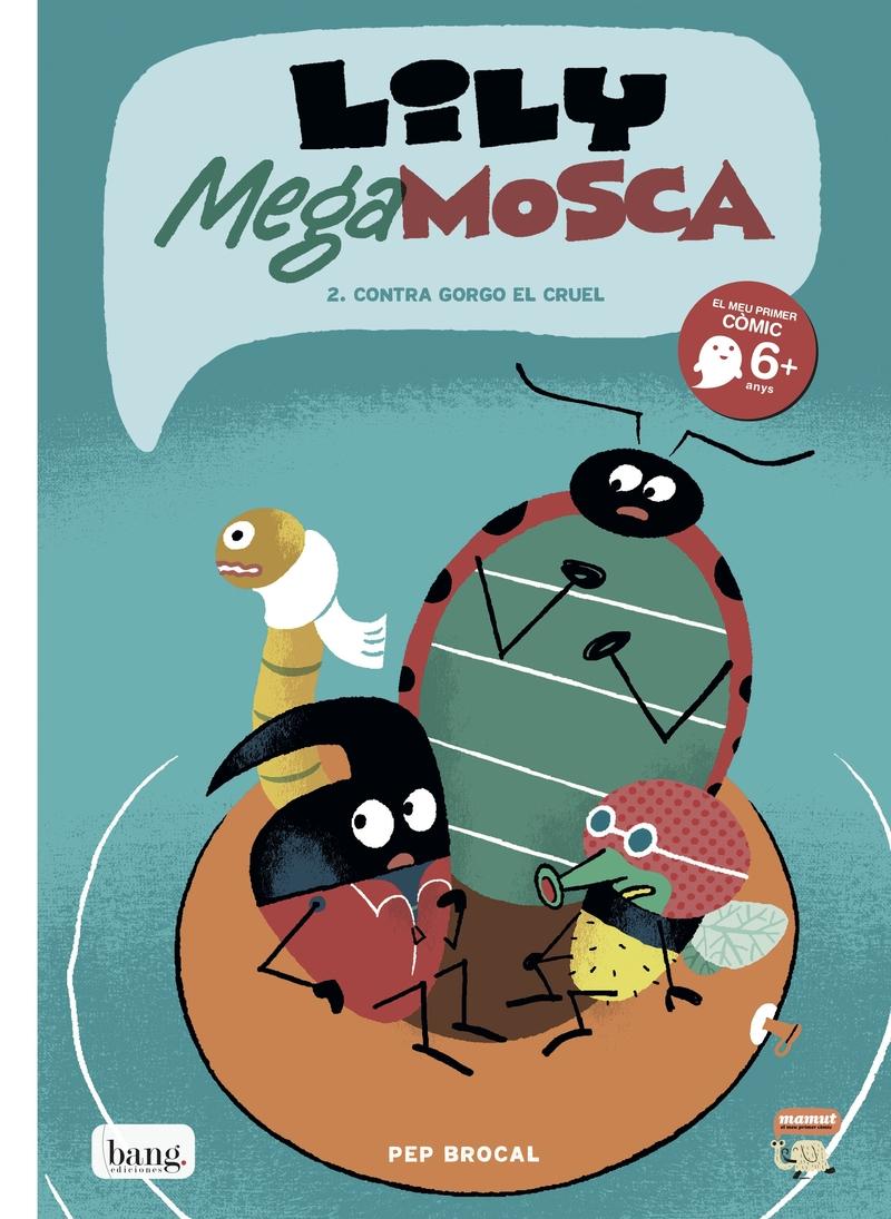 Lily Mega Mosca, vol.2: portada