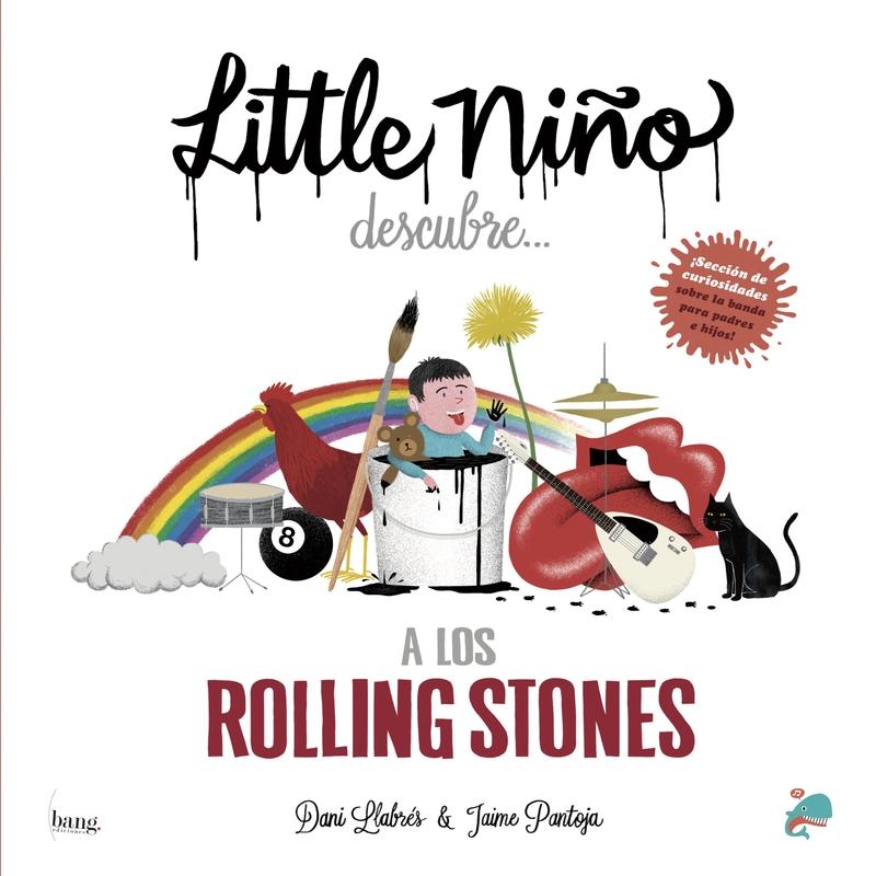 Little niño descubre a los Rolling Stones: portada