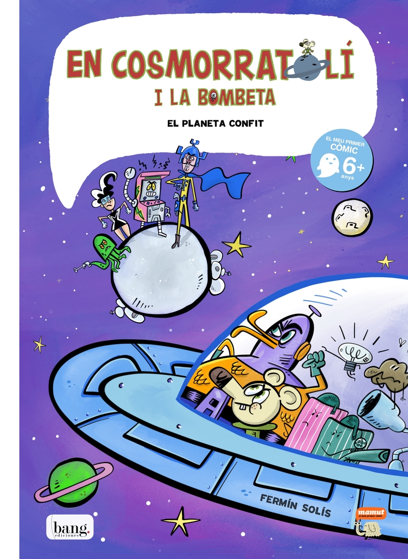 En Cosmorratolí i la bombeta 4: portada