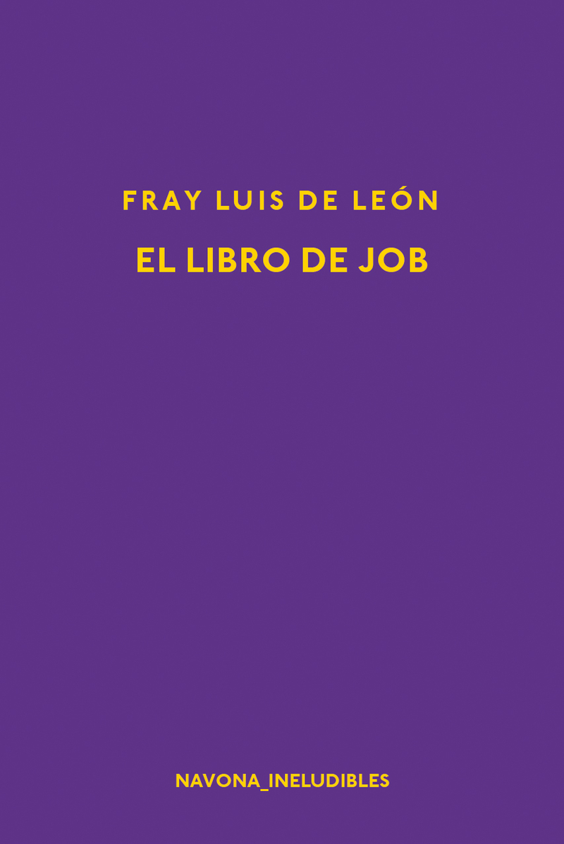 EL LIBRO DE JOB: portada