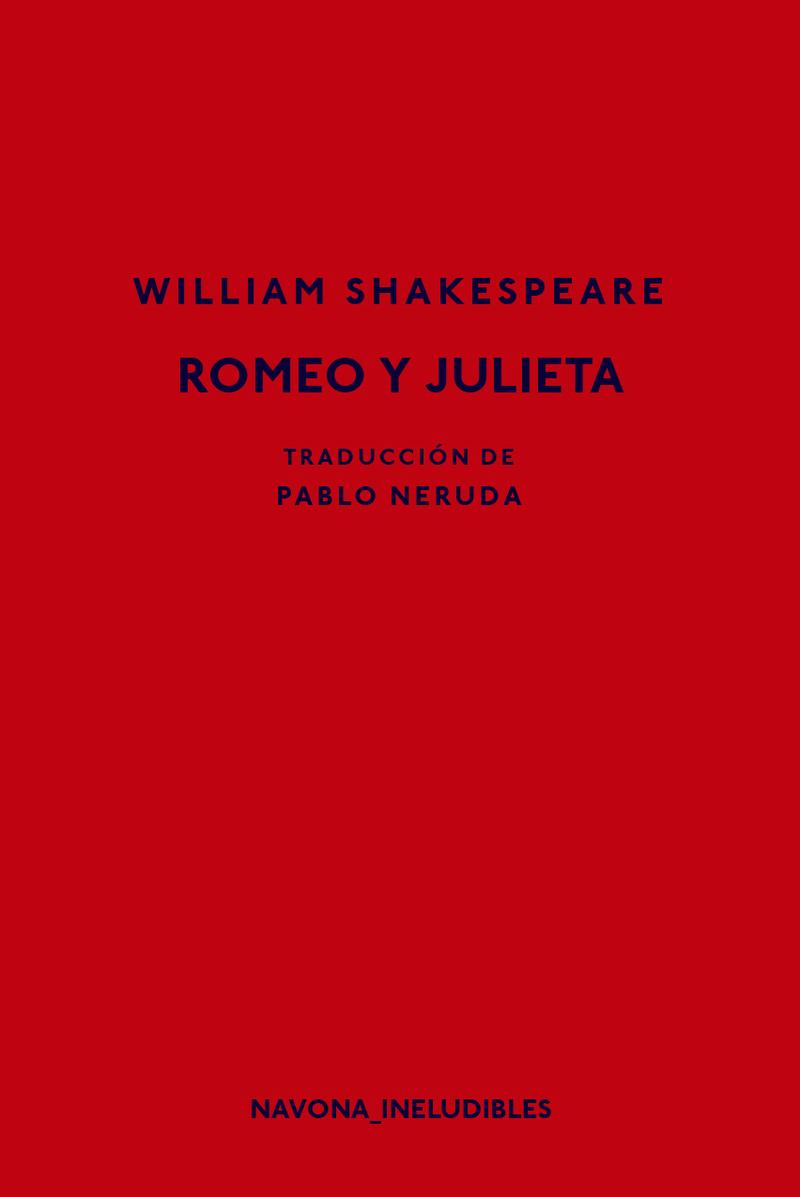 ROMEO Y JULIETA: portada