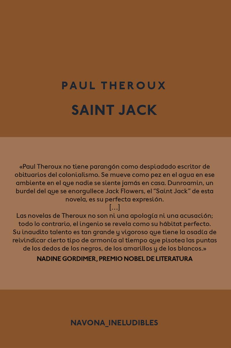Saint Jack: portada