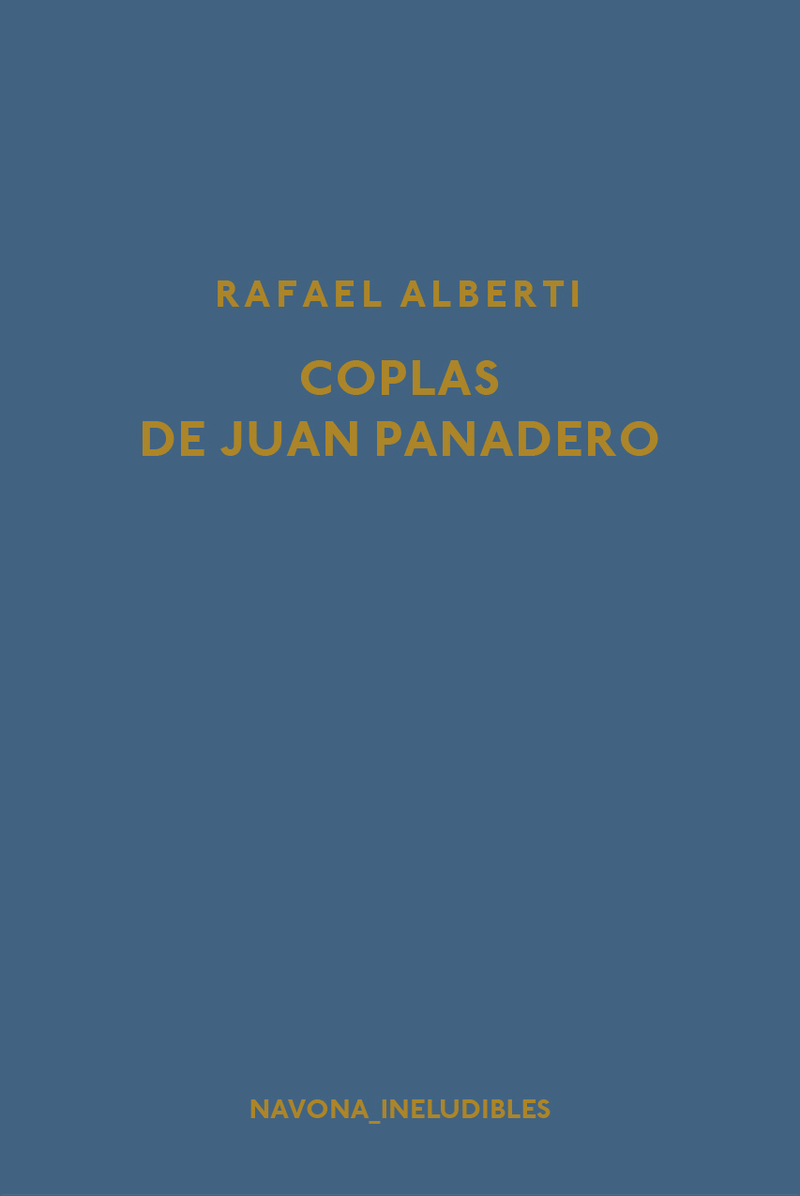 Coplas de Juan Panadero: portada
