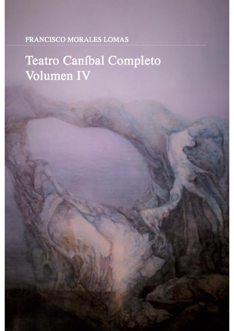 Teatro caníbal completo: portada