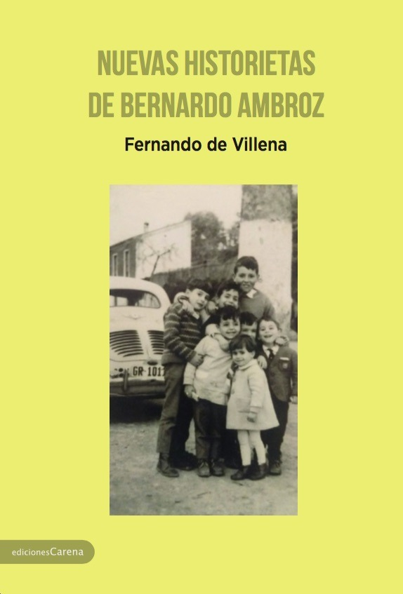 Nuevas historietas de Bernardo Ambroz: portada