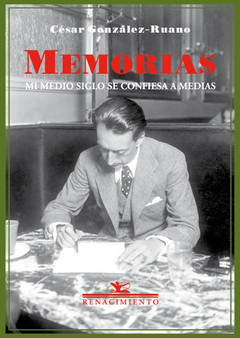 Memorias. Mi medio siglo se confiesa a medias: portada