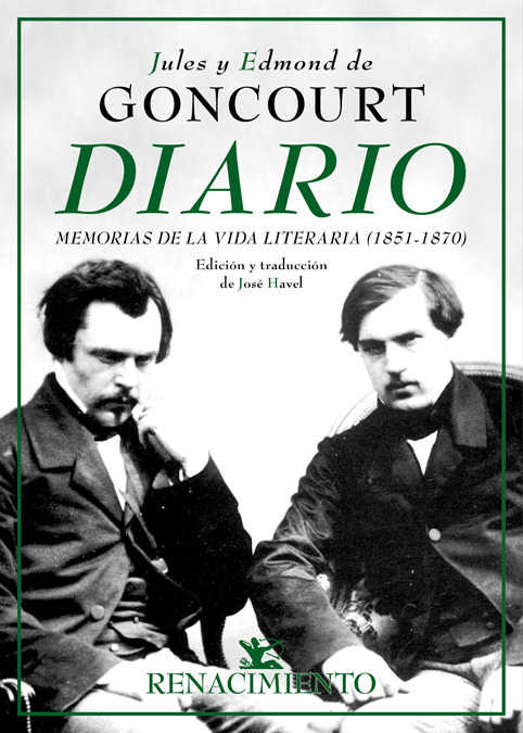 Diario. Memorias de la vida literaria (1851-1870): portada