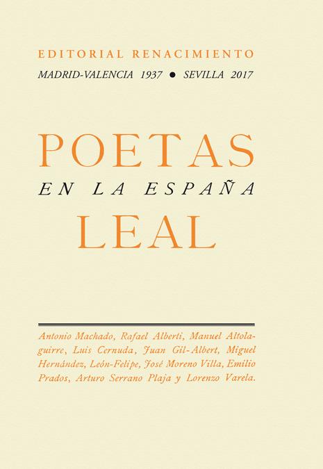 Poetas en la España Leal: portada