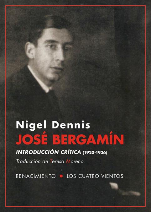 José Bergamín. Introducción crítica (1920-1936): portada