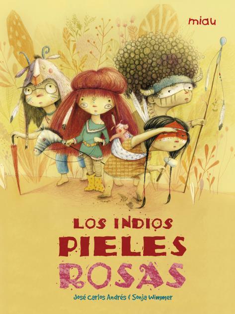 INDIOS PIELES ROSAS, LOS: portada