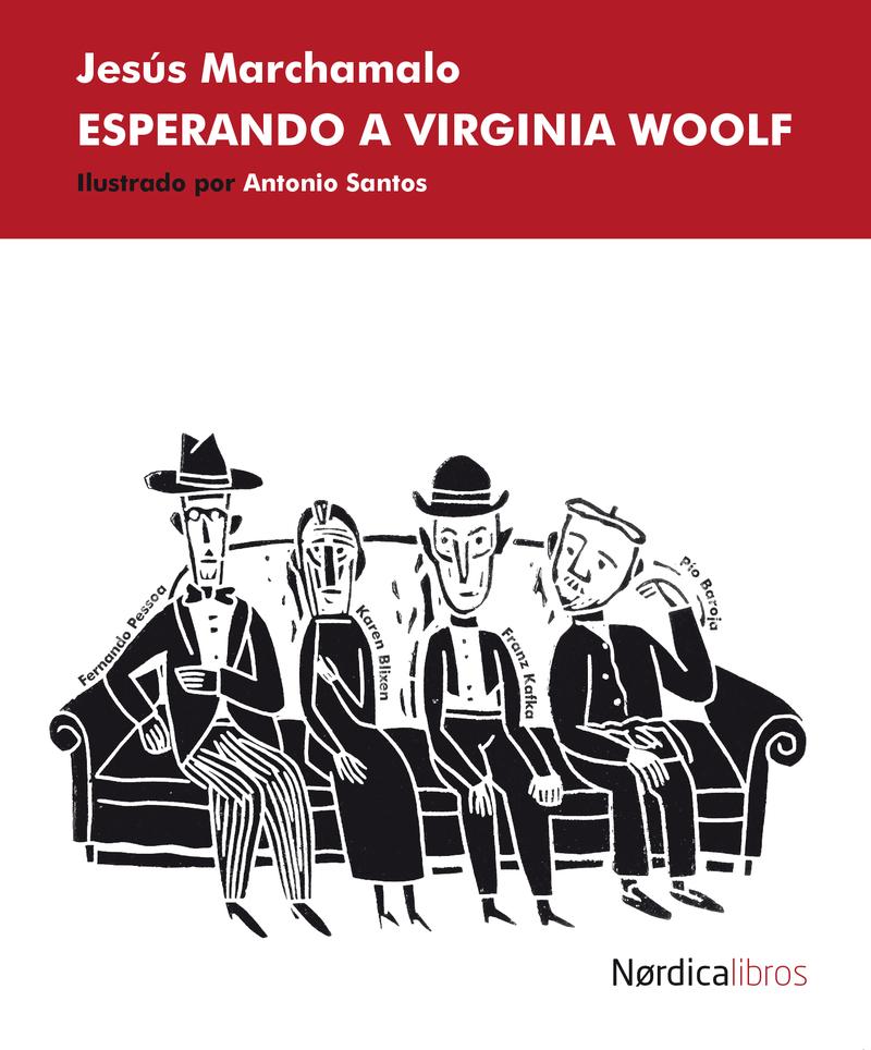 Esperando a Virginia Woolf: portada