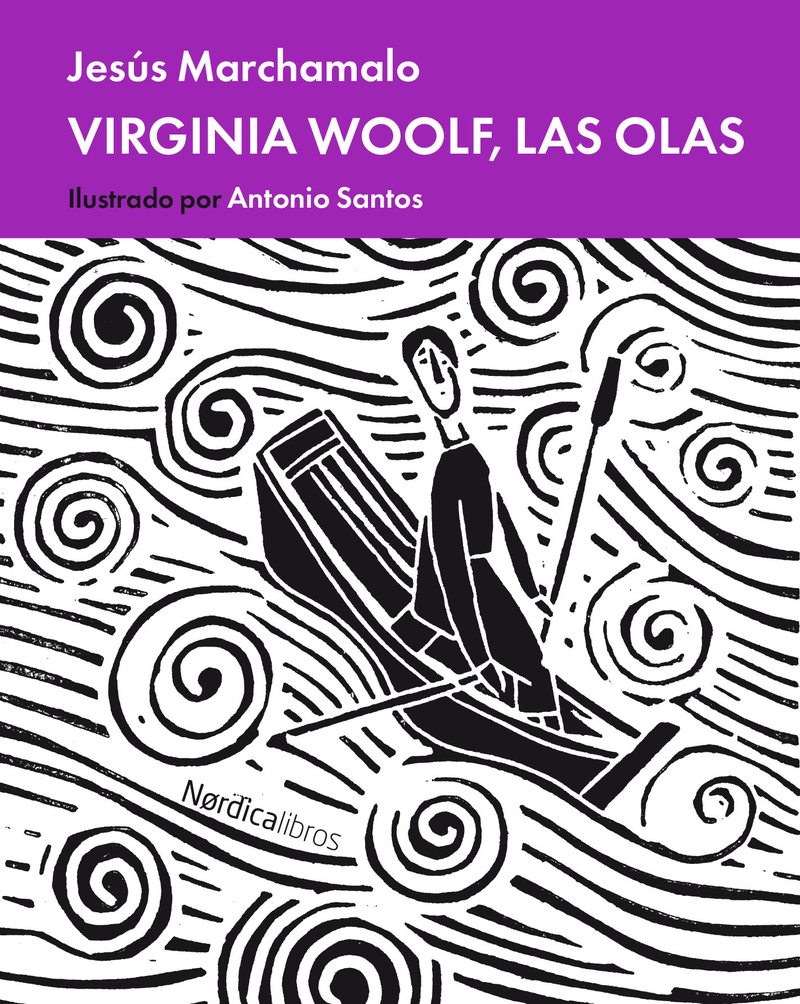 Virginia  Woolf, las olas: portada