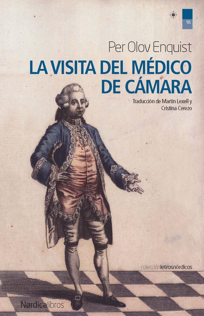 La visita del médico de cámara: portada
