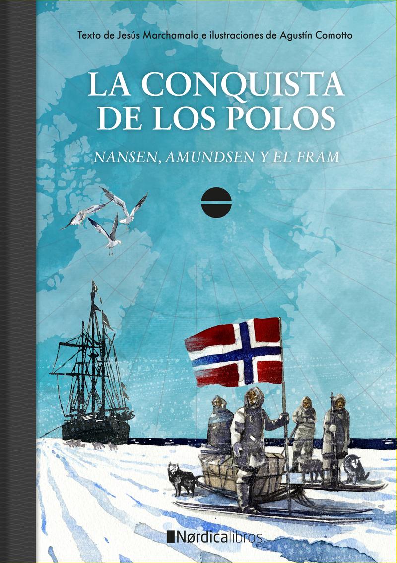 La conquista de los polos (2ª edición): portada