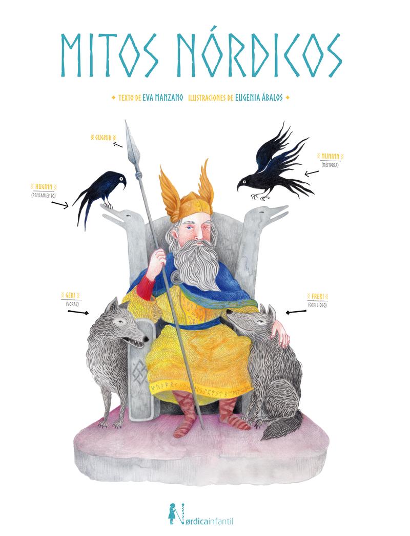 Mitos Nórdicos: portada