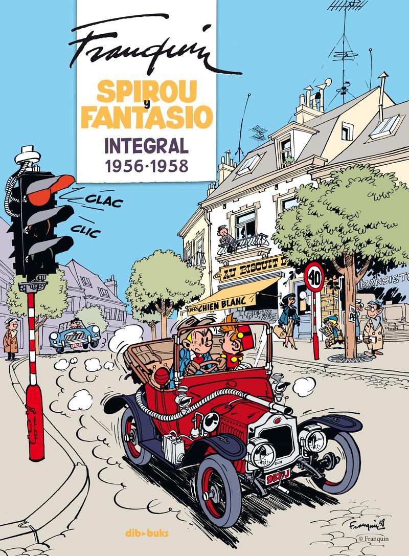 Spirou y Fantasio Integral 5: portada