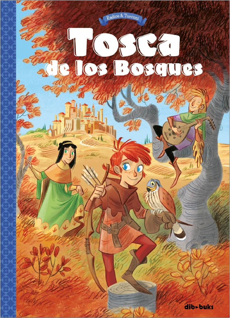 TOSCA DE LOS BOSQUES 1: portada
