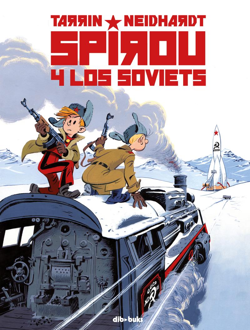 SPIROU Y LOS SOVIETS: portada