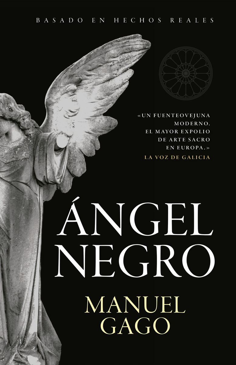 Ángel negro: portada