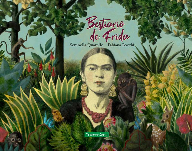 Bestiario de Frida: portada