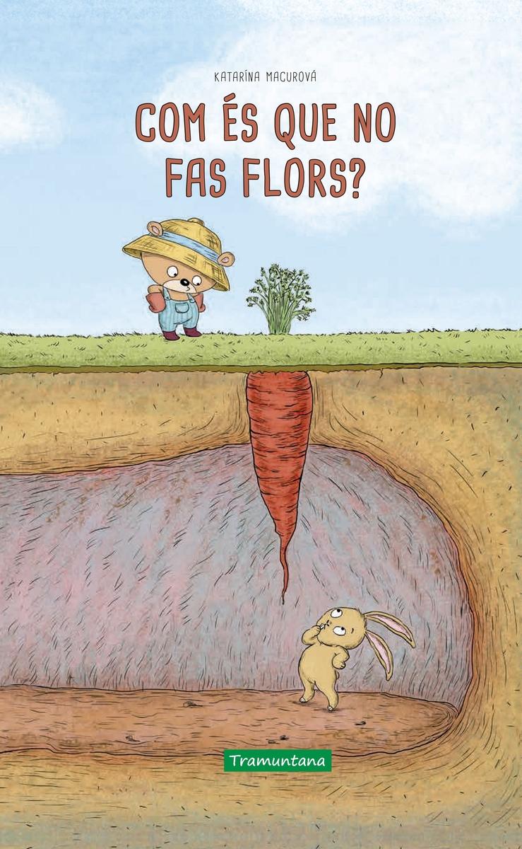 Com és que no fas flors?: portada