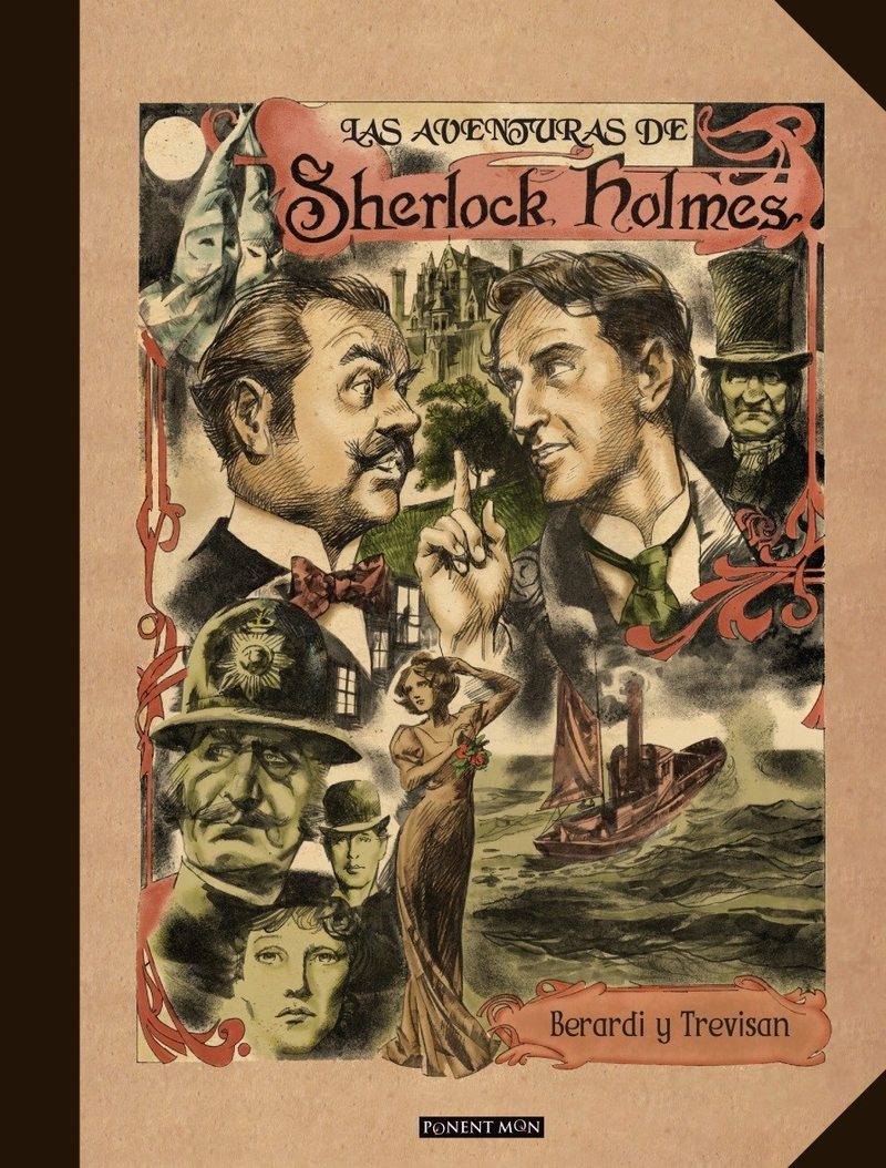 Sherlock Holmes: portada