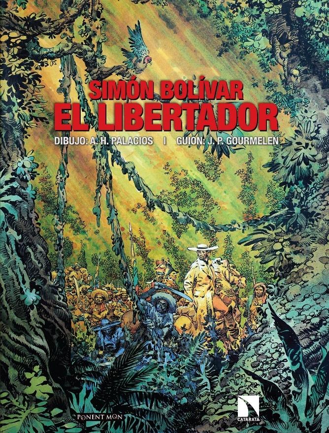 Simón Bolívar. El libertador: portada