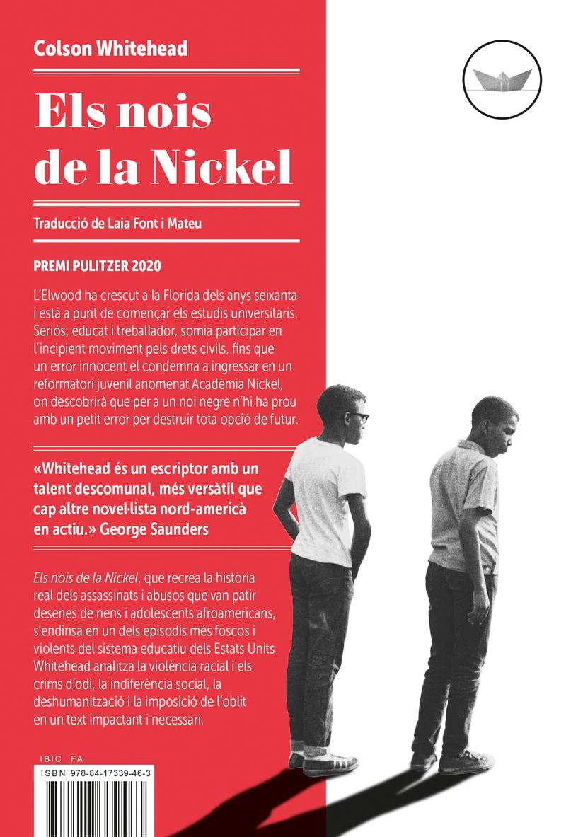Els nois de la Nickel: portada
