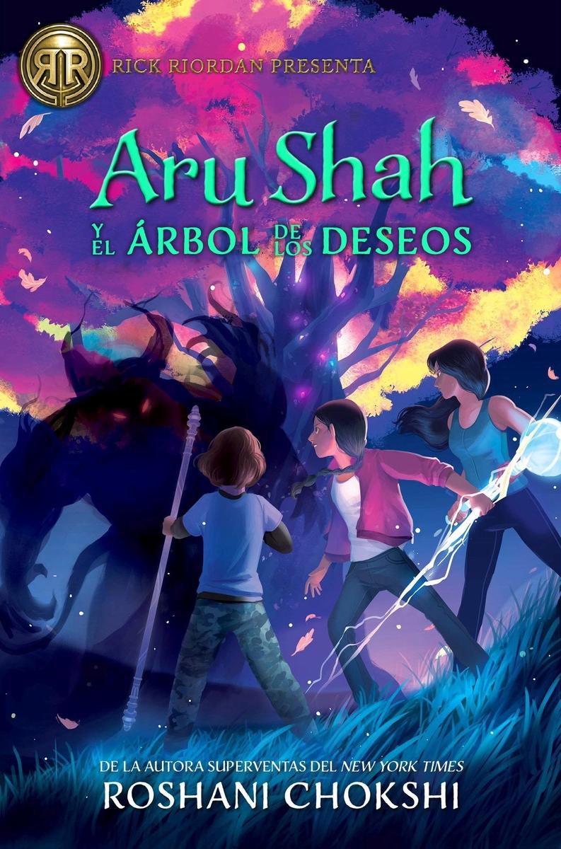 Aru Shah y el árbol de los deseos: portada