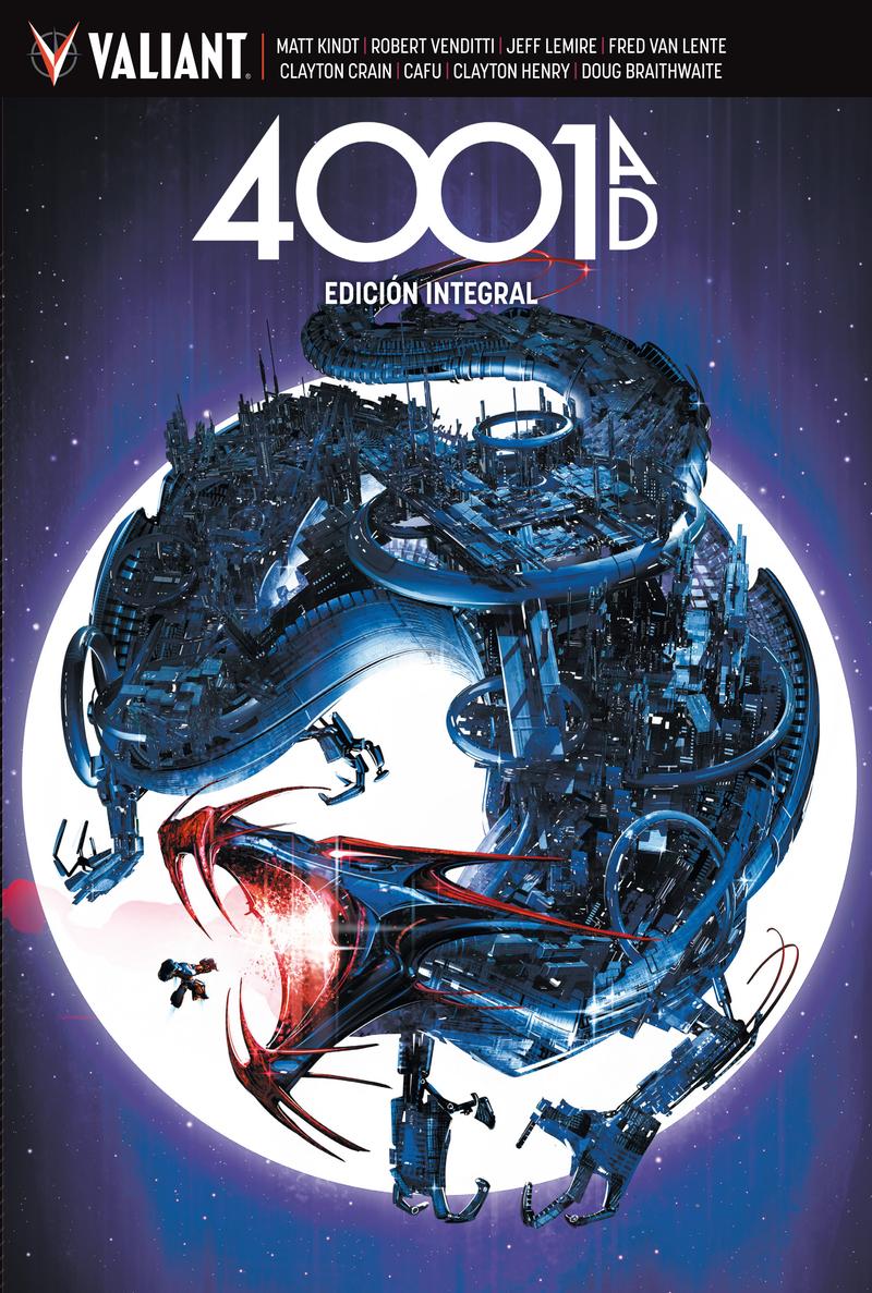 4001 AD: portada