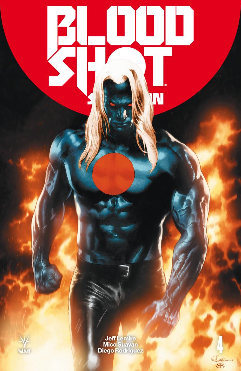 BLOODSHOT SALVATION 4: portada