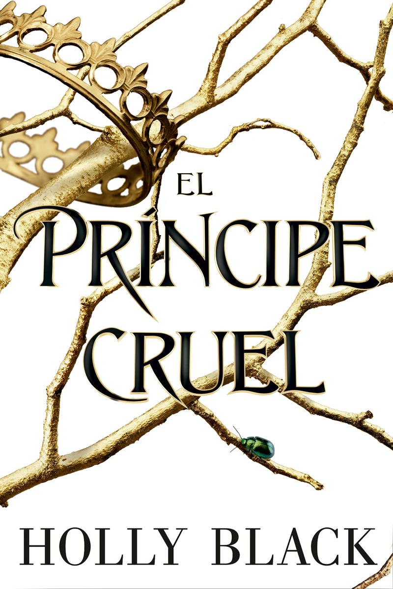 El príncipe cruel: portada