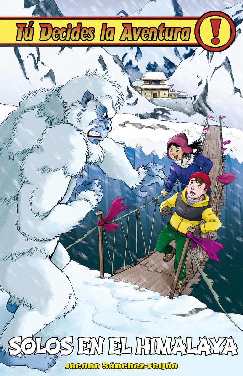 Solos en el Himalaya: portada