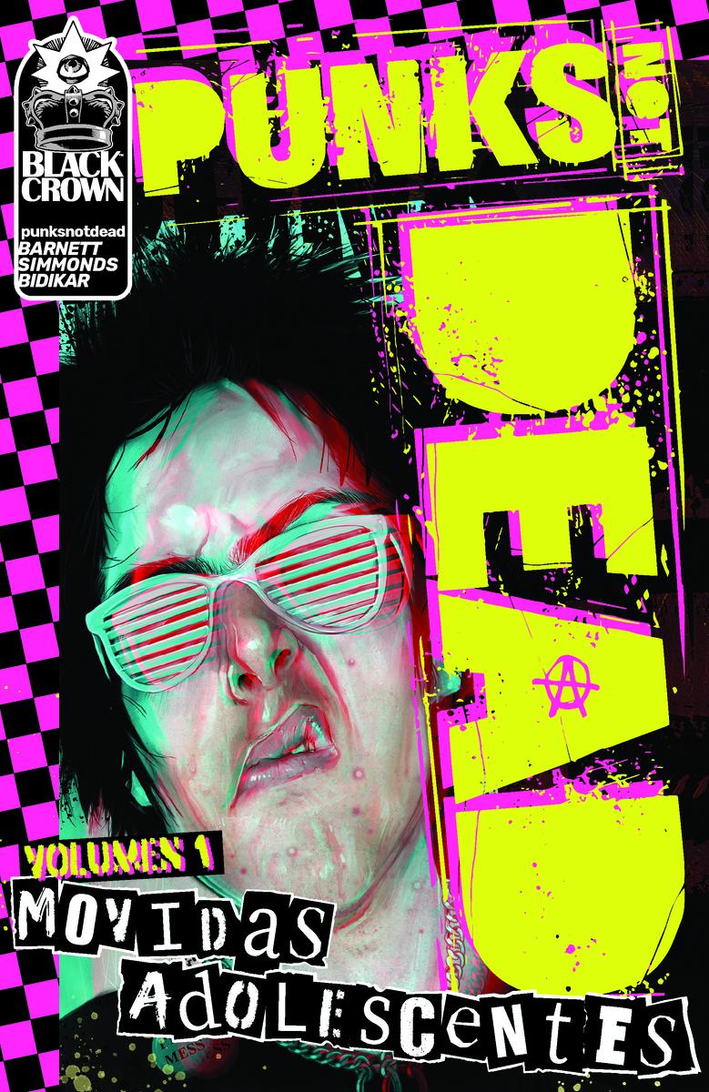 Punks not dead: portada
